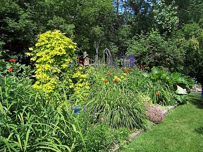 Photograph - Lovely Garden by Sheila Byers
