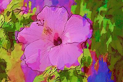 Photograph - Lovely Hibiscus by Alice Gipson
