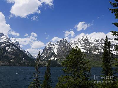 Photograph - Lovely Jenny Lake by Brenda Kean