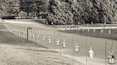 Lantern Mixed Media - Lovely Lanterns At Longwood by Trish Tritz