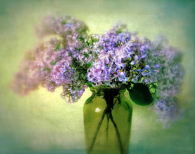 Violet Photograph - Lovely Lilac  by Jessica Jenney