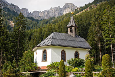 Photograph - Lovely Little Chapel In The Mountains by Matthias Hauser
