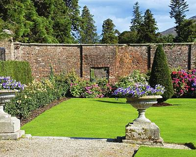 Photograph - Lovely Powerscourt Gardens In Ireland by Charlie and Norma Brock