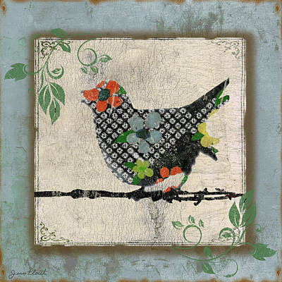 Lovely Song Bird-b Original by Jean Plout
