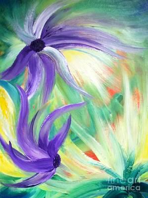 Painting - Lovely by Teresa Wegrzyn