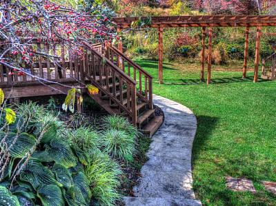 Photograph - Lovely Walkway by Cathy Jourdan