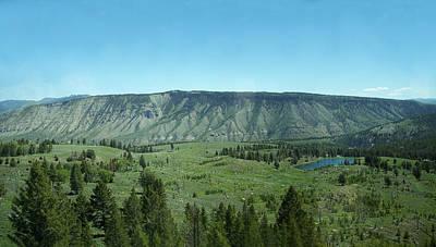 Photograph - Lovely Yellowstone by Georgia Hamlin