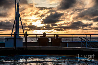 Photograph - Lovers At Sea by Rene Triay Photography