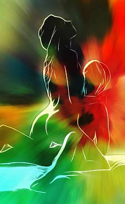 Sex Digital Art - Lovers Aura by Steve K