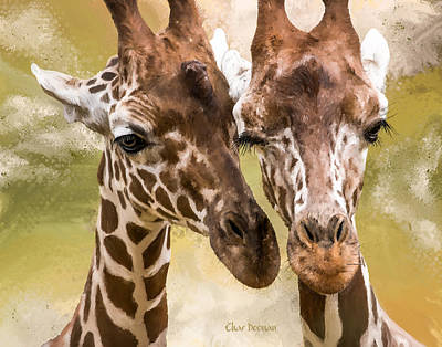 Painting - Lovers In The Zoo by Char Doonan