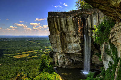 Lover's Leap Art Print by Greg and Chrystal Mimbs