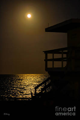 Lovers Moon Art Print by Rene Triay Photography