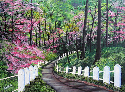 Painting - Lovers' Trail by Gloria E Barreto-Rodriguez