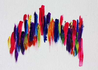Love's Fiery Path Art Print by Tom Atkins