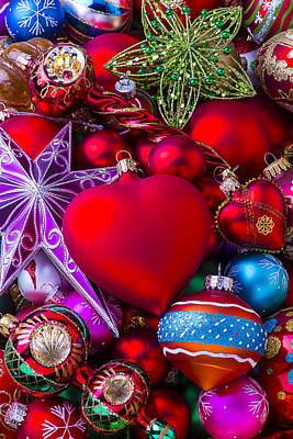 Baubles Photograph - Loving Christmas by Garry Gay