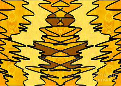 Digital Art - Loving Energy Abstract Creativity Art By Omaste Witkowski by Omaste Witkowski