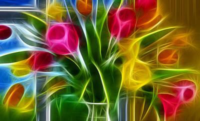 Karen Showell Digital Art - Loving by Karen Showell