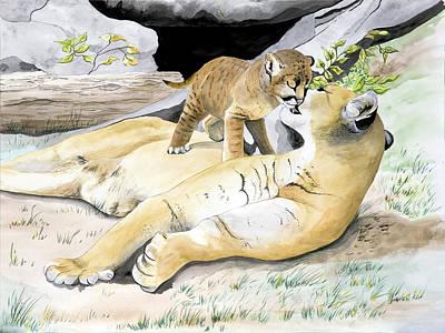 Loving Moment Original by Joette Snyder