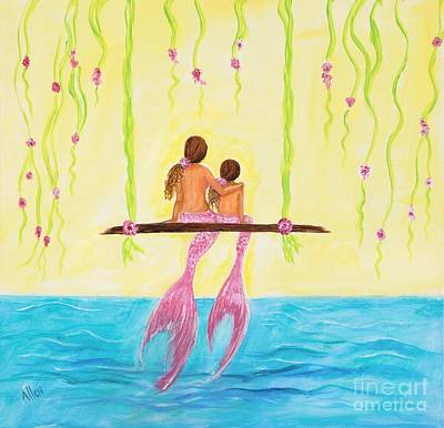 Swing Painting - Loving Sunshine by Leslie Allen