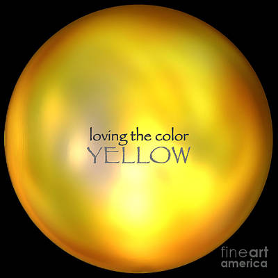 Mixed Media - Loving The Color Yellow Group Avatar by First Star Art