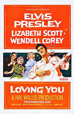 Loving You, Us Poster Art, Wendell Print by Everett