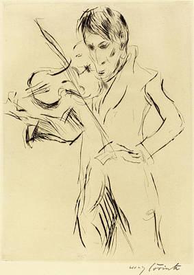Lovis Corinth, Andreas Weissgaerber-ii Bildnis Andreas Art Print