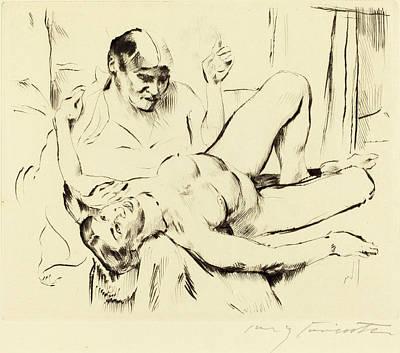 Lovis Corinth, Prophecy Weissagung, German Art Print