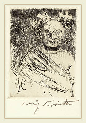 Banquet Drawing - Lovis Corinth, The Banquet Of Trimalchio Pl by Litz Collection