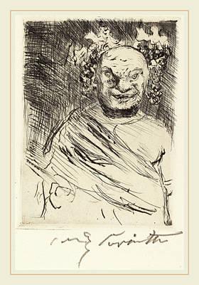Lovis Corinth, The Banquet Of Trimalchio Pl Art Print
