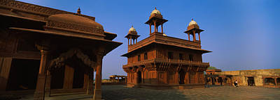 Low Angle View Of A Building, Fatehpur Art Print by Panoramic Images