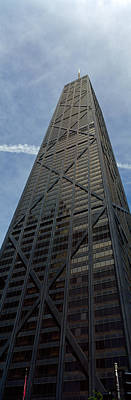Building Exterior Photograph - Low Angle View Of A Building, Hancock by Panoramic Images