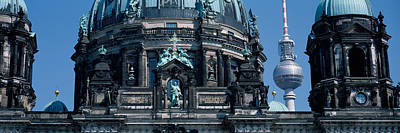 Berlin Photograph - Low Angle View Of A Church, Berliner by Panoramic Images
