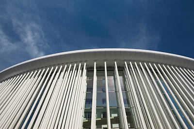 Charlotte Photograph - Low Angle View Of A Concert Hall by Panoramic Images