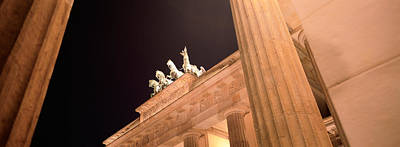 Berlin Photograph - Low Angle View Of A Gate, Brandenburg by Panoramic Images