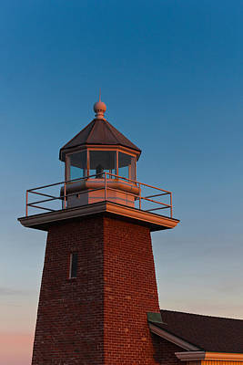Low Angle View Of A Lighthouse Museum Art Print by Panoramic Images