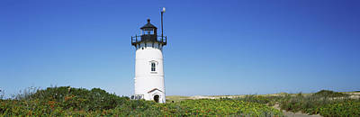 Race Point Photograph - Low Angle View Of A Lighthouse, Race by Panoramic Images