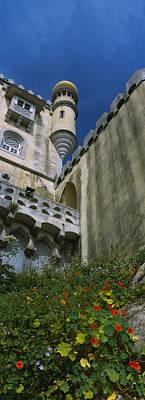 Low Angle View Of A Palace, Palacio De Art Print