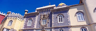 Pena Photograph - Low Angle View Of A Palace, Palacio by Panoramic Images