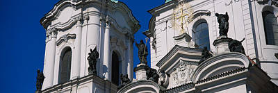 Prague Photograph - Low Angle View Of A Palace by Panoramic Images