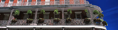 Louisiana Photograph - Low Angle View Of A Restaurant, Rivers by Panoramic Images