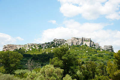 Provence Photograph - Low Angle View Of A Ruined Town by Panoramic Images