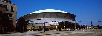 Louisiana Photograph - Low Angle View Of A Stadium, Louisiana by Panoramic Images