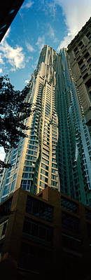 Frank Gehry Photograph - Low Angle View Of An Apartment, Wall by Panoramic Images