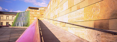 Low Angle View Of An Art Museum Art Print