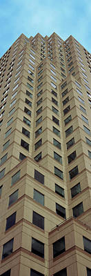 Low Angle View Of Building, Two Art Print by Panoramic Images