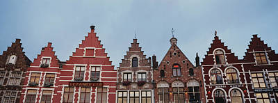 Belgium Photograph - Low Angle View Of Buildings, Bruges by Panoramic Images