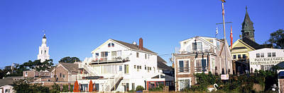 Barnstable Photograph - Low Angle View Of Buildings, Cape Cod by Panoramic Images