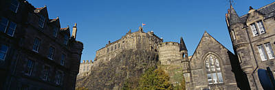 Edinburgh Castle Photograph - Low Angle View Of Buildings, Edinburgh by Panoramic Images
