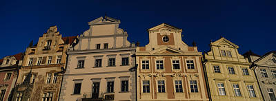 Low Angle View Of Buildings, Prague Old Art Print by Panoramic Images