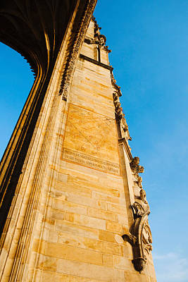 Low Angle View Of Cathedrale Art Print